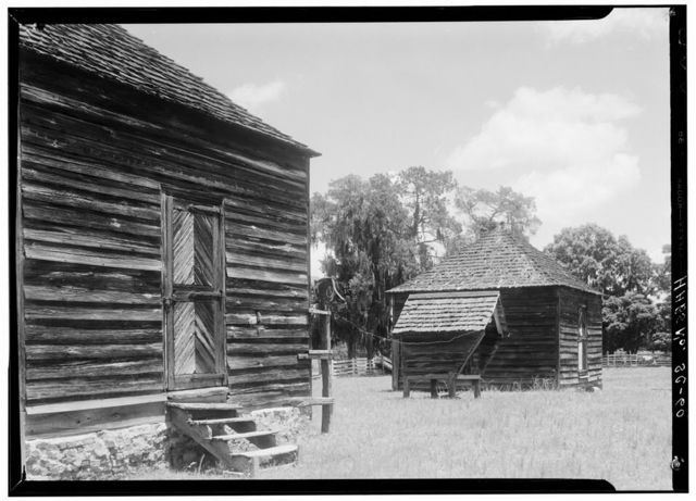Pond Bluff, Outbuildings, Eutaw Springs, Orangeburg County, SC