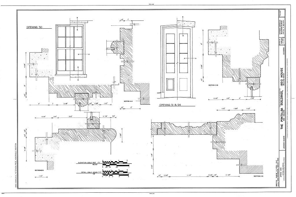 Pontalba Buildings, 1850 House, Jackson Square, New Orleans, Orleans Parish, LA