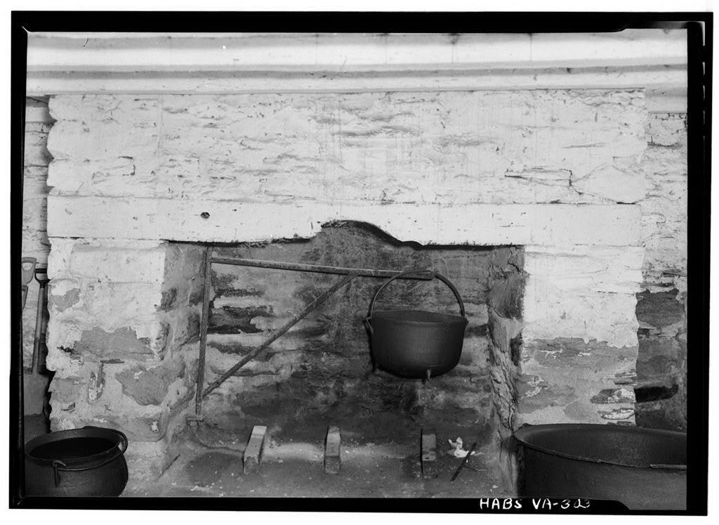 Poplar Forest, Summer Kitchen, State Route 661, Forest, Bedford County, VA