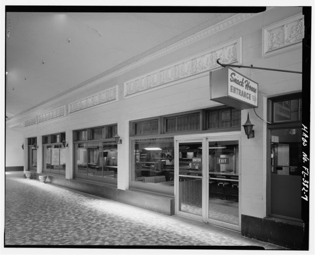 Post Office Arcade, 2118 First Street, Fort Myers, Lee County, FL
