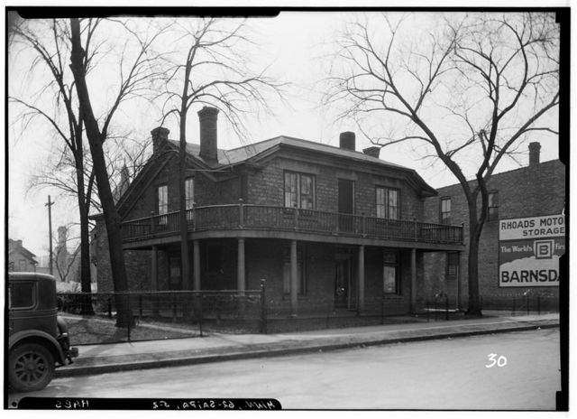 Postelethwait House, Twelfth Street, Saint Paul, Ramsey County, MN