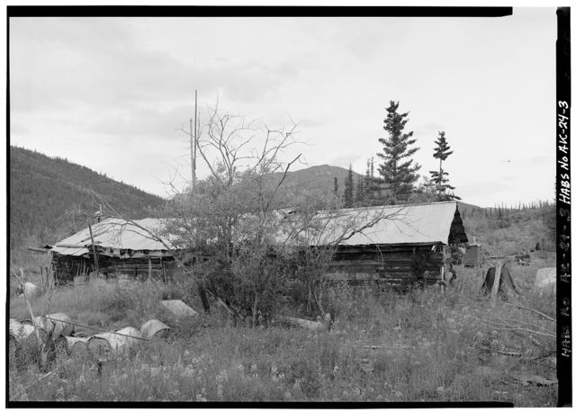 Postlethwaite-Jones Cabin, Nolan, on Smith Creek, Bettles, Yukon-Koyukuk Census Area, AK