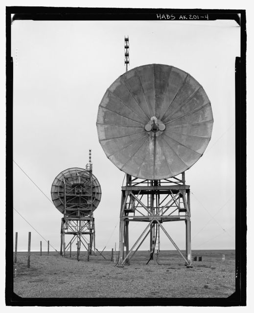 POW-3 Distant Early Warning Line Station, Bullen Point, Prudhoe Bay, North Slope Borough, AK