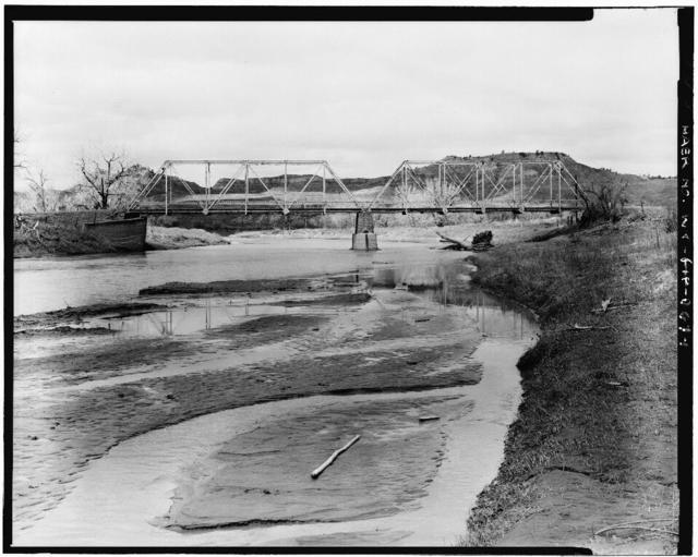 Powder River Bridge, County Road 269, Leiter, Sheridan County, WY