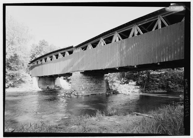 Powerscourt Bridge, Spanning Chateauguay River, First Concession Road, Elgin/Hichinbrooke, Huntingdon County, Quebec, Canada, Chateaugay, Franklin County, NY