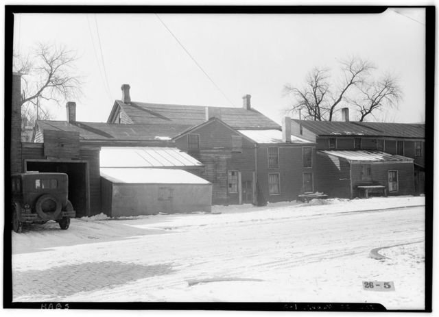 Pre-Emption House, Chicago Avenue & Main Street, Naperville, Du Page County, IL