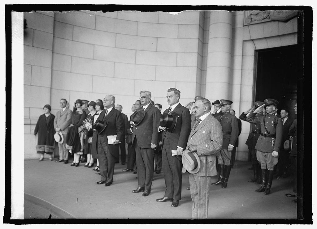 President Elect Machado & J.B. Wright at Union Station, [Washington, D.C.], 4/15/25