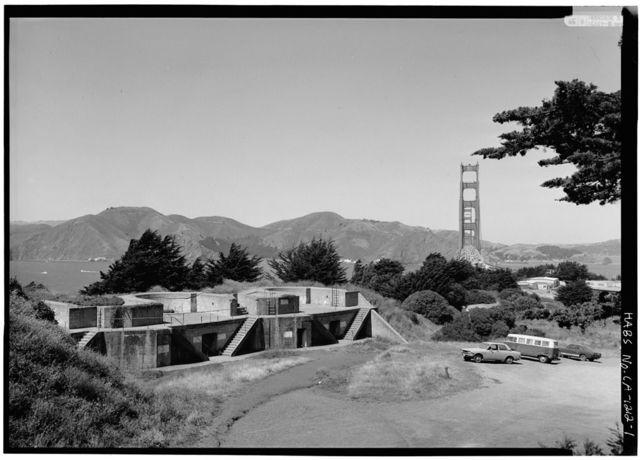 Presidio of San Francisco, Gun Emplacements, U.S. 101 & I-480, San Francisco, San Francisco County, CA