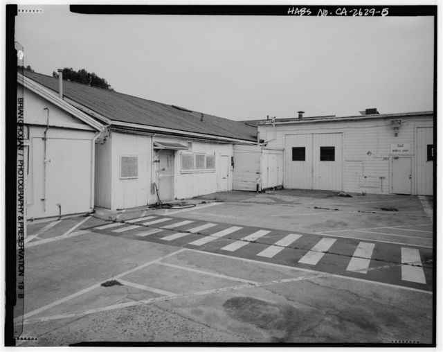 Presidio of San Francisco, Warehouse & Auto Shop, Crissy Field North cantonment, San Francisco, San Francisco County, CA