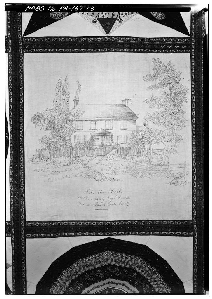 Primitive Hall, State Route 841 (West Marlborough Township), Clonmell, Chester County, PA