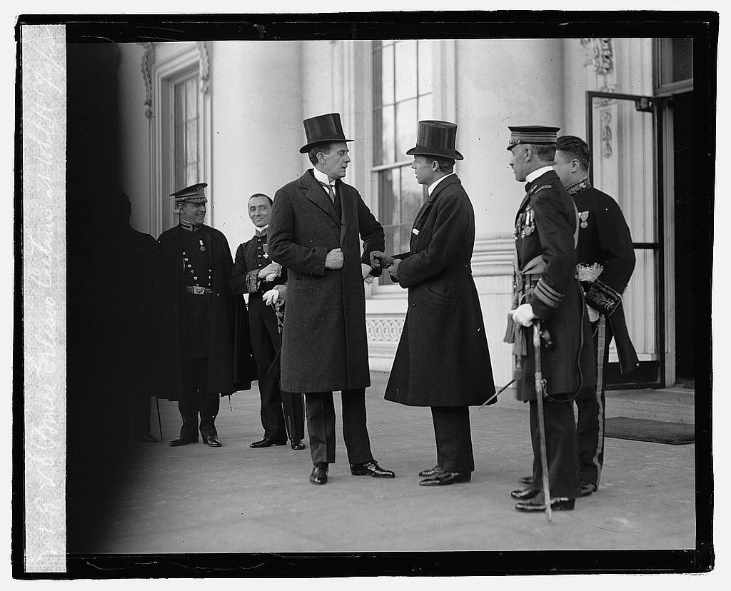 Prince Gelasio Caetani at White House, 12/29/22