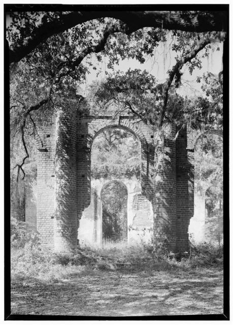 Prince William's Parish Church (Ruins), Sheldon, Beaufort County, SC