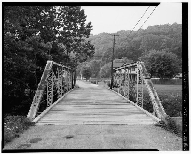 Proenty Road Bridge, Spanning Jennings Run at Proenty Road, Corriganville, Allegany County, MD