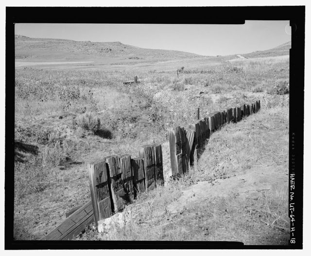 Promontory Route Railroad Trestles, S.P. Trestle 779.91, One mile southwest of junction of State Highway 83 and Blue Creek, Corinne, Box Elder County, UT