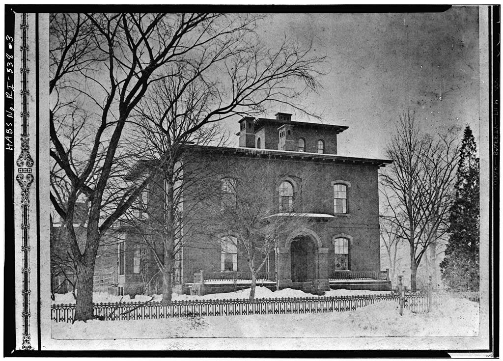 Providence College, George M. Bradley House, 189 Eaton Street, Providence, Providence County, RI