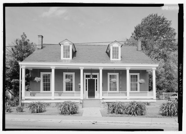 Prudhomme House, 424 Jefferson Street, Natchitoches, Natchitoches Parish, LA