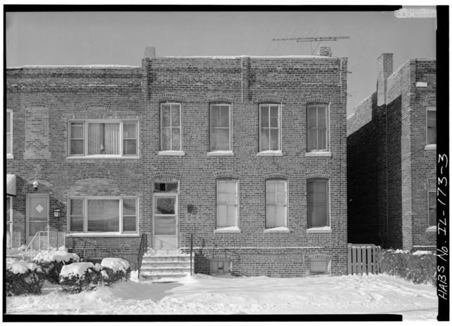 Pullman Industrial Complex, Worker's Housing, 111 Street & Cottage Grove Avenue vicinity, Chicago, Cook County, IL