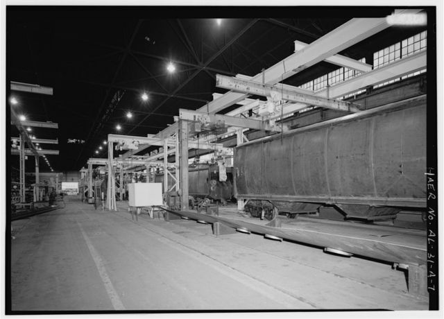 Pullman Standard Company Plant, Fabrication Assembly Shop, 401 North Twenty-fourth Street, Bessemer, Jefferson County, AL
