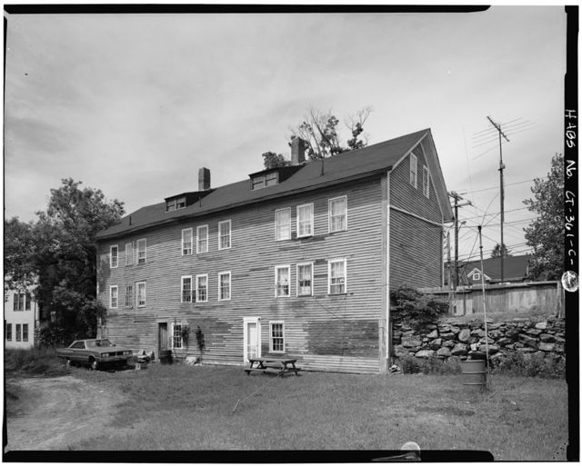 Putnam Manufacturing Company Workers' Houses, 317 Church Street (House), Putnam, Windham County, CT