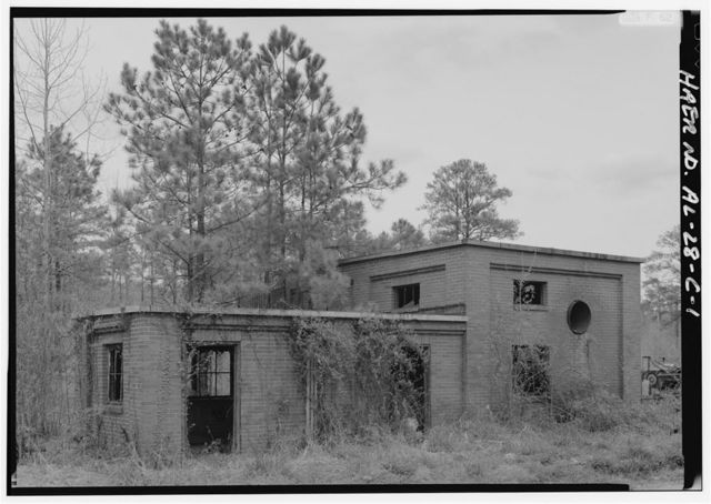 Pyne Red Ore Mine, Boiler House, State Route 150, Bessemer, Jefferson County, AL