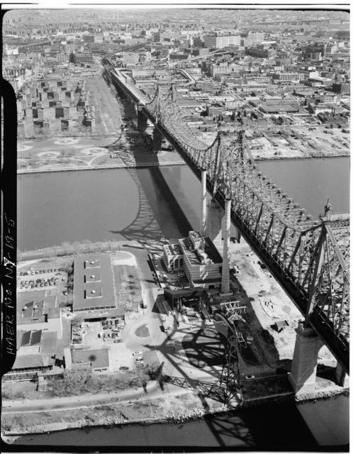 Queensboro Bridge, Spanning East river & Blackwell's Island, New York, New York County, NY