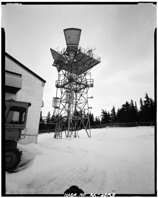 Rabbit Creek White Alice Site, Radio Relay Station, Anchorage, Anchorage, AK