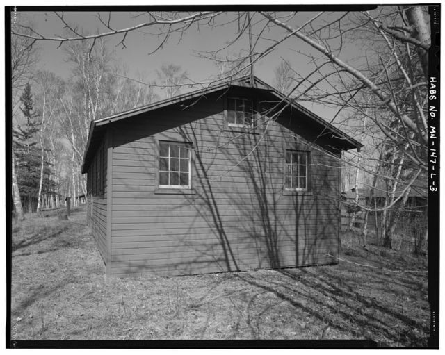 Rabideau Civilian Conservation Corps Camp, Army Officer's Quarters, County Road 39, Blackduck, Beltrami County, MN