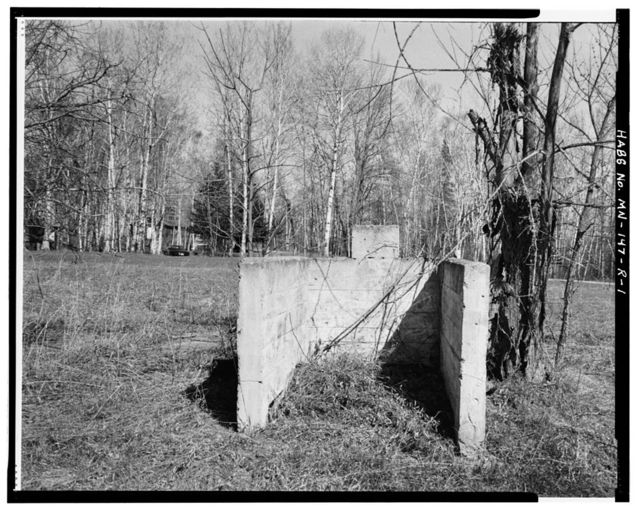 Rabideau Civilian Conservation Corps Camp, Oil House, County Road 39, Blackduck, Beltrami County, MN