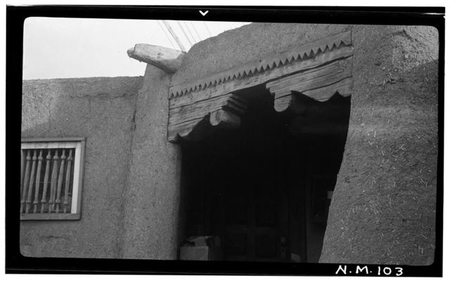 Ralph Meyers House (Corbels), Taos, Taos County, NM
