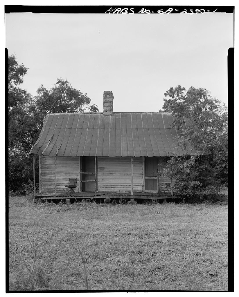 Rambo-Bell-Redding Tenant House, County Road 130, east of Intersection U.S. 27 & State Route 1, Bluffton, Clay County, GA