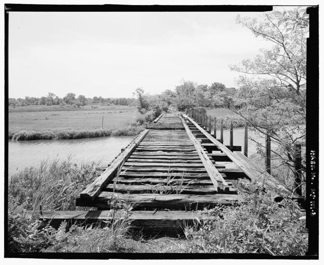 Raritan & Delaware Bay Railroad, Crossing Compton Creek & Church Road (Bounded North by Port Monmouth Road, & South by Broadway), Belford, Monmouth County, NJ