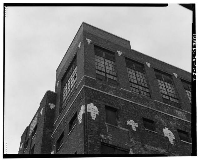 Rath Packing Company, Lard Refinery, Sycamore Street between Elm & Eighteenth Streets, Waterloo, Black Hawk County, IA