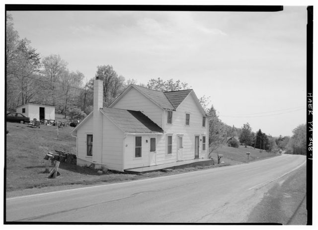 Ray's Hill Tollhouse, East side of U.S. 30 at Ray's Hill, Breezewood, Bedford County, PA