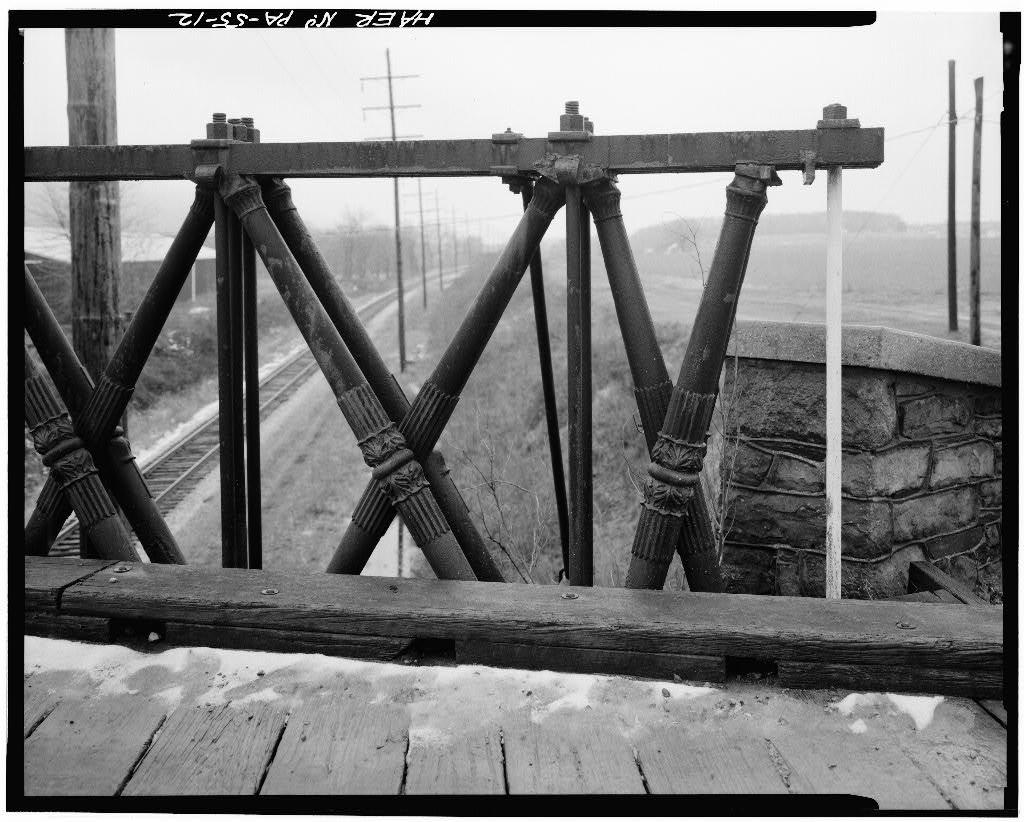 Reading-Halls Station Bridge, U.S. Route 220, spanning railroad near Halls Station, Muncy, Lycoming County, PA