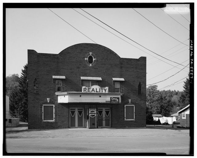 Reality Theater, South Main Street opposite Route 913, Robertsdale, Huntingdon County, PA