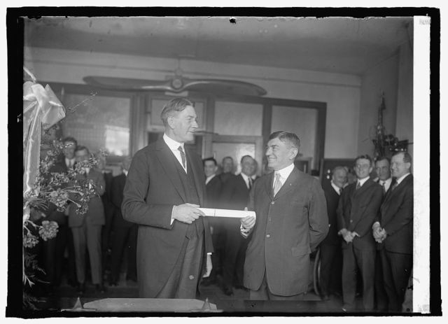 Reappointment of Gen. Lejeune by Sec. Wilbur, 3/6/25