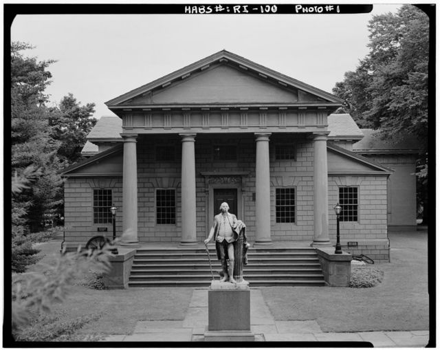 Redwood Library, 50 Bellevue Avenue, Newport, Newport County, RI