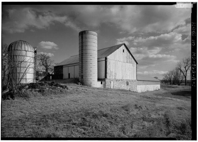 Reel Farm, Barn, Landing Road, Sharpsburg, Washington County, MD