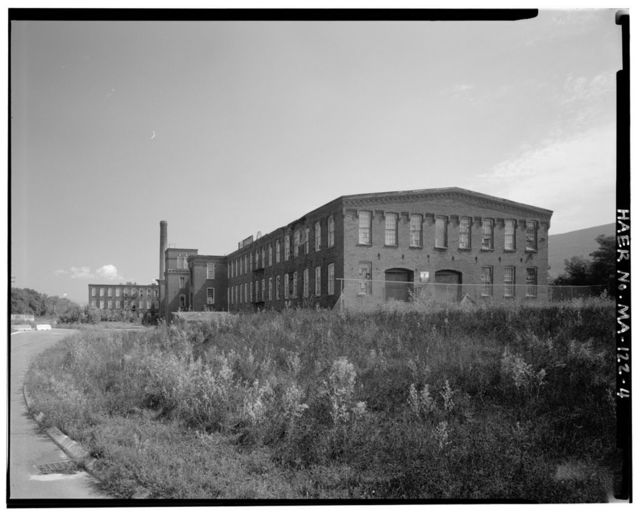 Renfrew Manufacturing Company Mill No. 2, 217 Columbia Street, Adams, Berkshire County, MA