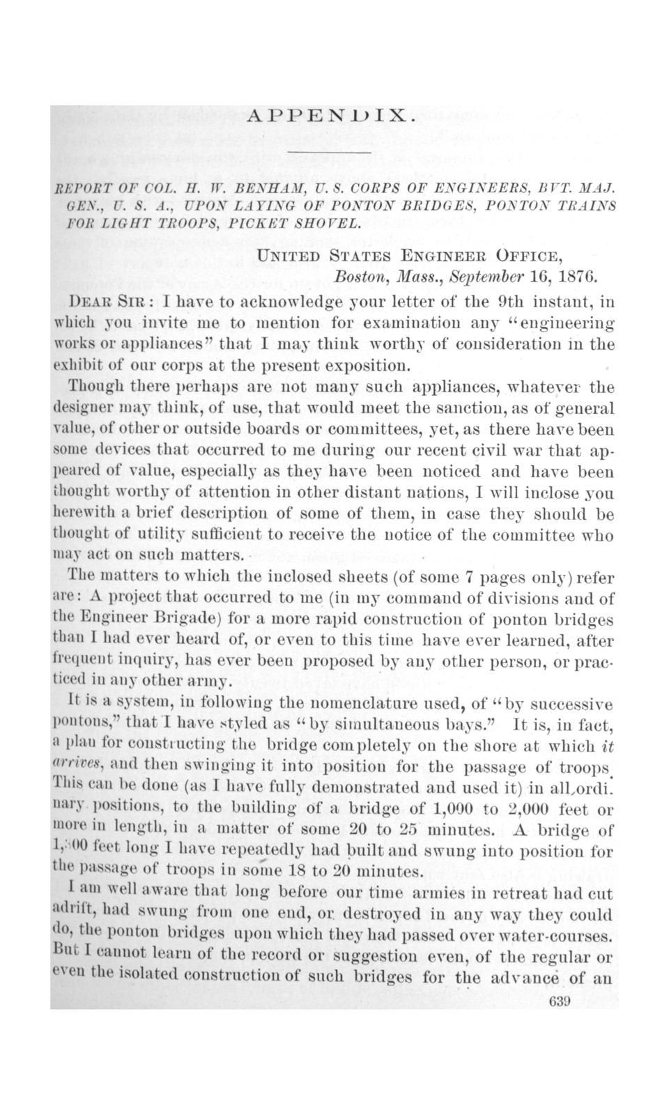 Report of the Board on behalf of the United States executive departments at the International exhibition held at Philadelphia, Pa., 1876, under acts of Congress of March 3, 1875, and May 1, 1876.