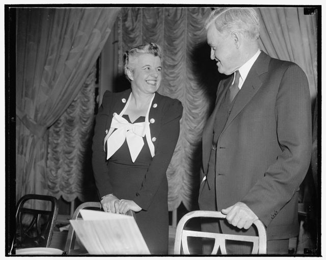 Republican Women's Chief. Washington, D.C., April 21. A new informal picture of Miss Marion E. Martin, assistant to the Chairman of the Republican National Committee in charge of women's activities