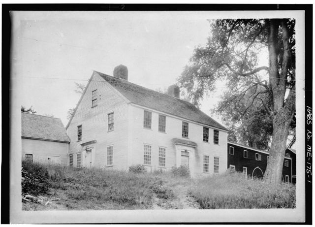 Reverend Jeremiah Jewett House, Head Tide, Lincoln County, ME