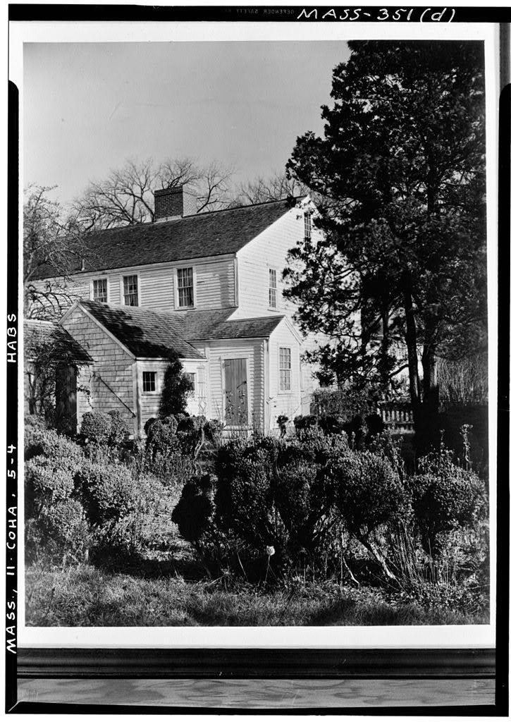 Reverend Nehemiah Hobart House, Cohasset, Norfolk County, MA