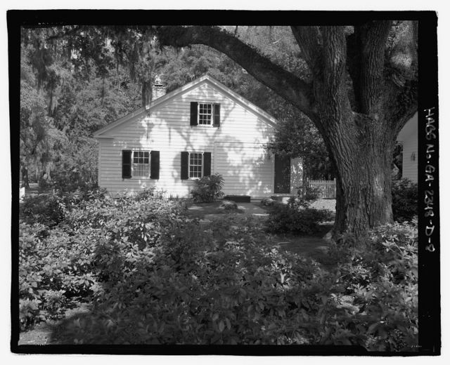 Richmond Hill Plantation, Caretaker's House, East of Richmond Hill on Ford Neck Road, Richmond Hill, Bryan County, GA