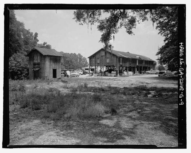 Richmond Hill Plantation, Cherry Hill Lettuce Shed, East of Richmond Hill on Ford Neck Road, Richmond Hill, Bryan County, GA