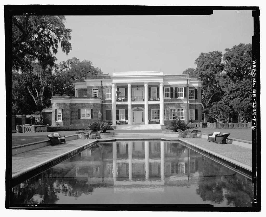 Richmond Hill Plantation, Ford Mansion, East of Richmond Hill on Ford Neck Road, Richmond Hill, Bryan County, GA