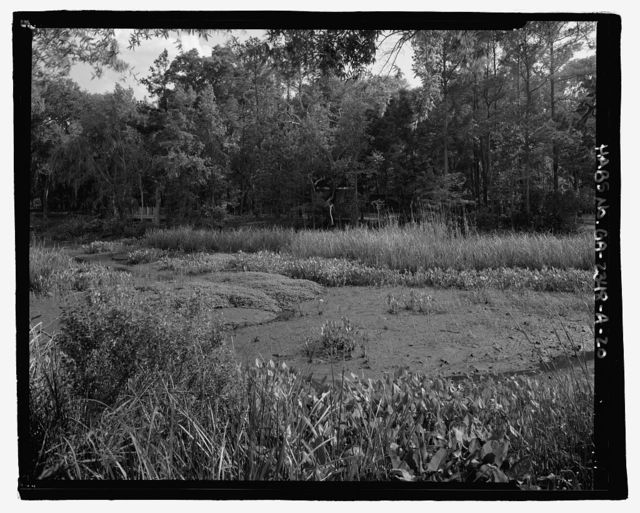 Richmond Hill Plantation, Sterling Creek Marsh, East of Richmond Hill on Ford Neck Road, Richmond Hill, Bryan County, GA