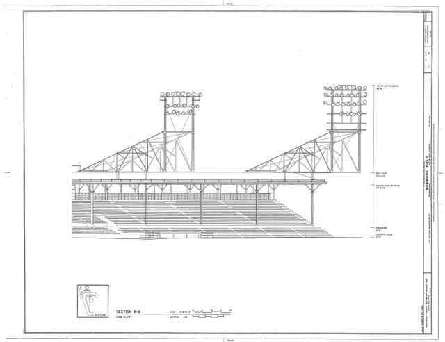 Rickwood Field, 1137 Second Avenue West, Birmingham, Jefferson County, AL