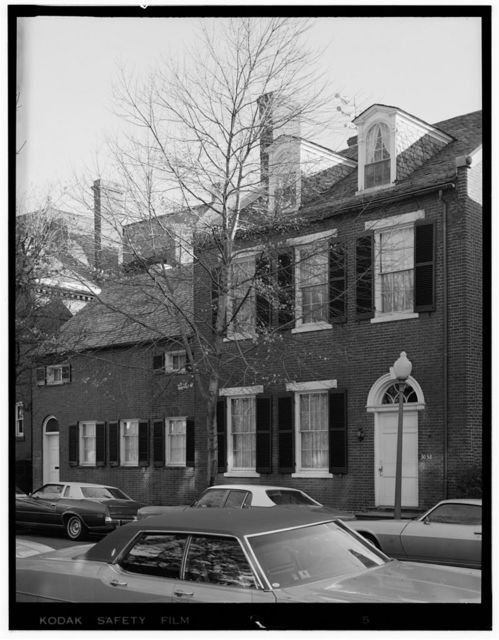 Riggs-Riley House, 3038 N Street, Northwest, Washington, District of Columbia, DC