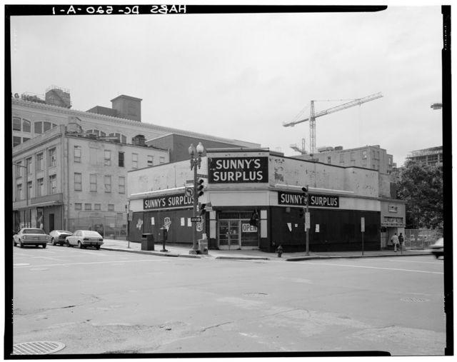 Riley Building, Sunny's Surplus, 816 E Street, Northwest, Washington, District of Columbia, DC